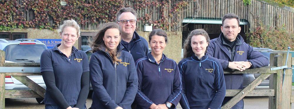 Mayes & Scrine Equine Vets In Horsham Team Photo